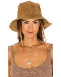 Rag & Bone Nando Bucket Hat - Braun