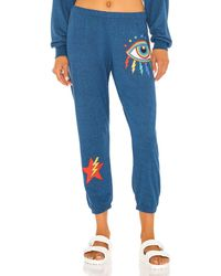 Lauren Moshi Pantalón deportivo tanzy - Azul