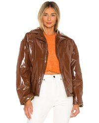 Tach Clothing Куртка Milena В Цвете Коричневый
