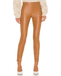 Blank NYC Skinny Faux Leather Pant - Braun