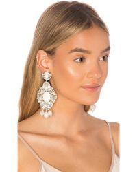 Ranjana Khan Something Blue Earrings - White