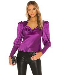 Elliatt Melrose Top - Purple