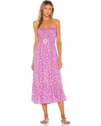 Cool Change Phoebe Springs Dress - Lila