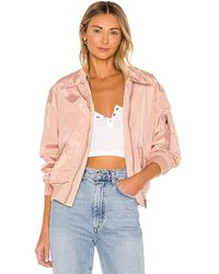 superdown Jayden Bomber Jacket - Pink