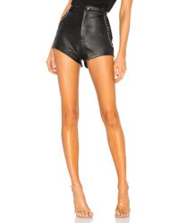 Urban Outfitters Studded Combo Shorts - Schwarz