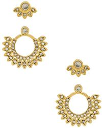 Luv Aj - The Cosmic Flare Studs Set - Lyst