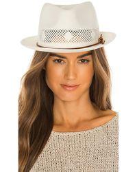 Rag & Bone Trilby Panama Hat - Weiß