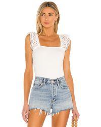 Heartloom Camiseta tirantes nela - Blanco