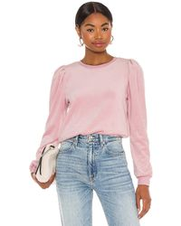 1.STATE - Velour Sweater - Lyst