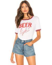 Chaser - Beer Crew Neck Ringer Tee - Lyst