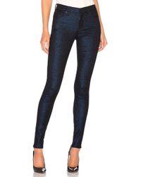 Hudson Jeans - Nico Midrise Super Skinny - Lyst