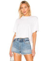 Cotton Citizen Tokyo クロップtシャツ - ホワイト