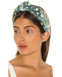 Lele Sadoughi Oversized Pearl & Crystal Headband - Multicolour