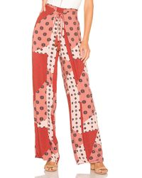 House of Harlow 1960 X Revolve Idrissa Pant - Red