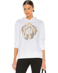 Versace Jeans Couture Emblem Baroque スウェットシャツ - ホワイト