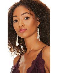 Amber Sceats Balfour Earring - Metallic