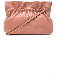 Loeffler Randall - Carrie Ruffle Frame Clutch In Pink. - Lyst