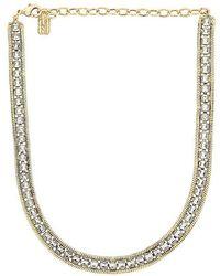 Lionette Liza Necklace - Metallic