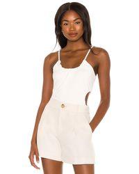 Bardot The Grecian Bodysuit - White
