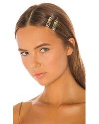 Amber Sceats Esmee Hair Clip Set - Metallic
