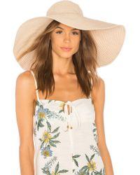 Florabella - Natasha Hat In Nude. - Lyst