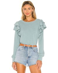 Nation Ltd Xenia Tシャツ - ブルー