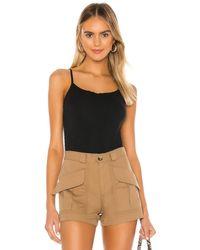 Commando Essential Cotton Underpinning Bodysuit - Black