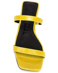Alias Mae Сандалии Prim В Цвете Yellow Croc - Желтый
