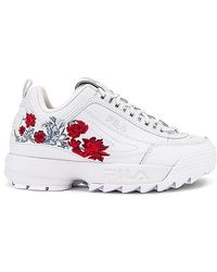 Fila Disruptor Ii Flower Trainer - White