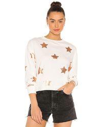 Spiritual Gangster Mazzy Pullover Sweatshirt - White