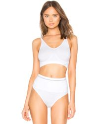 Yummie By Heather Thomson - Cotton Seamless Shaping Thong - Lyst