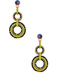 Elizabeth Cole Lana Earrings - Multicolor