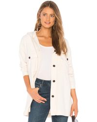 Sanctuary - Kennie Hooded Jacket In White - Lyst