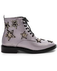 COACH - Watts Lace Up Boot - Lyst