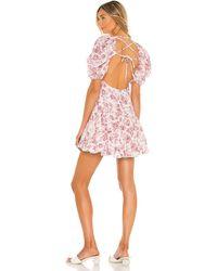 MINKPINK Love Story Mini Dress - Pink