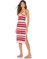 b74fe1940707 Needle & Thread Midsummer Ditsy Dress in White - Lyst