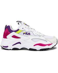 Fila Ray Tracer Sneaker - Weiß