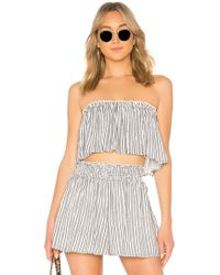 Likely - Lucy Top In Navy - Lyst