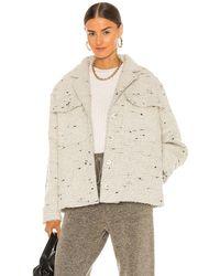 Anine Bing Куртка Leon В Цвете Белый Твидовый - Естественный