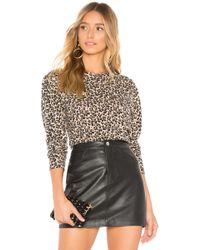 Rebecca Taylor Jersey leopard - Multicolor