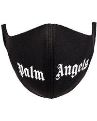 Palm Angels Logo Mask - Schwarz