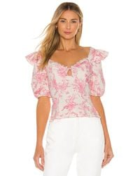 MAJORELLE - Lilith Top - Lyst