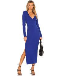 Bardot ニットミディドレス - ブルー
