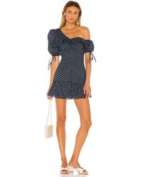 MAJORELLE Sonia Mini Dress - Blau