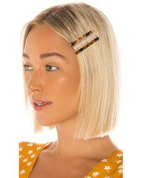 Amber Sceats Nina Hairclip Set - Metallic