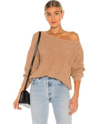 Callahan Lee Off The Shoulder Sweater - Multicolor