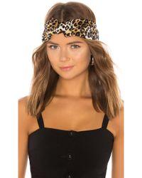 Jennifer Behr - Marin Leopard Turban - Lyst