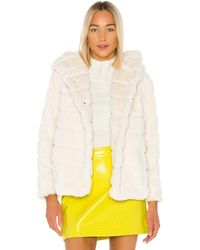 Apparis Куртка Из Искусственного Меха Goldie В Цвете Ivory - Белый