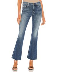 Mother The Weekend Fray. Size 24,27,29. - Blau