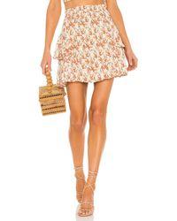 MINKPINK Zahari Mini Skirt - Multicolour